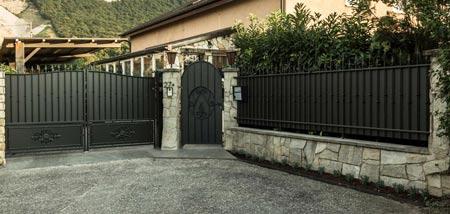 Portail et Porte