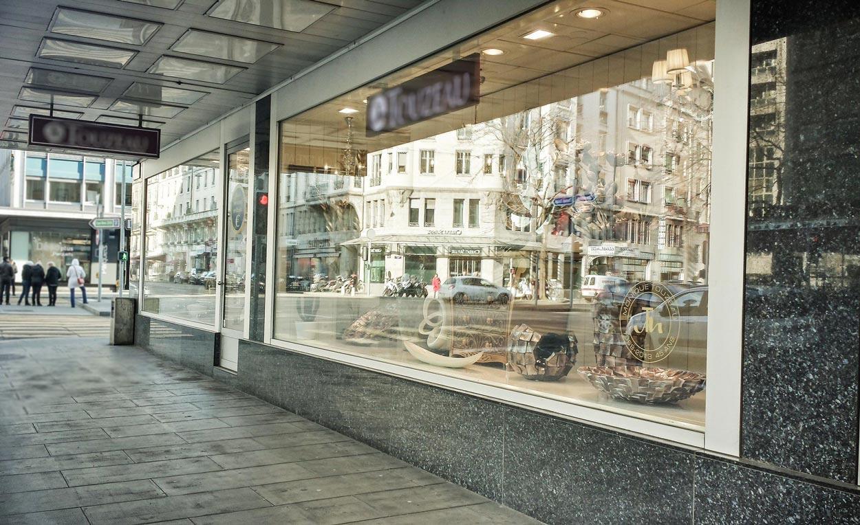 Grande vitrine de boutique