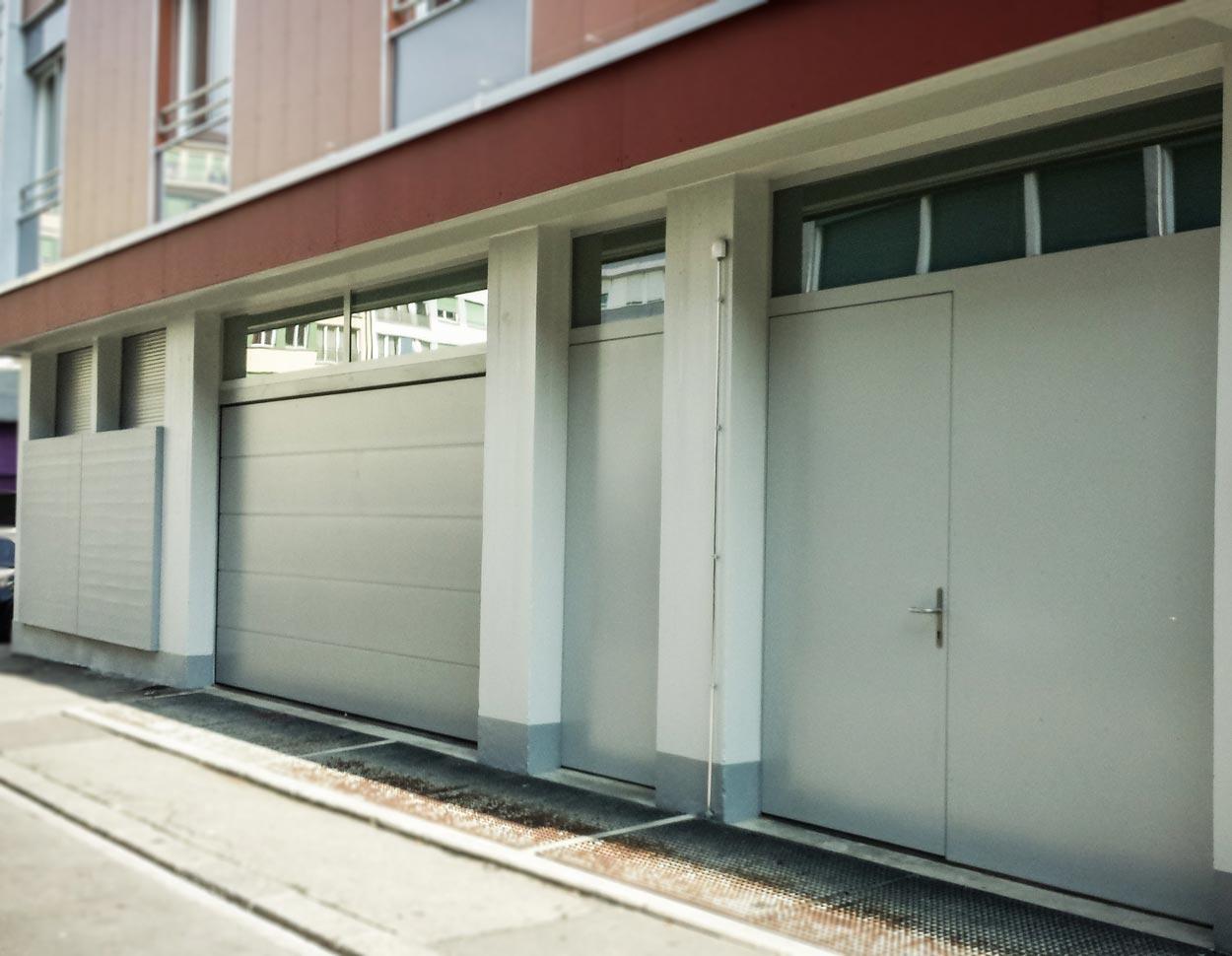 Portes de garage et portes métalliques
