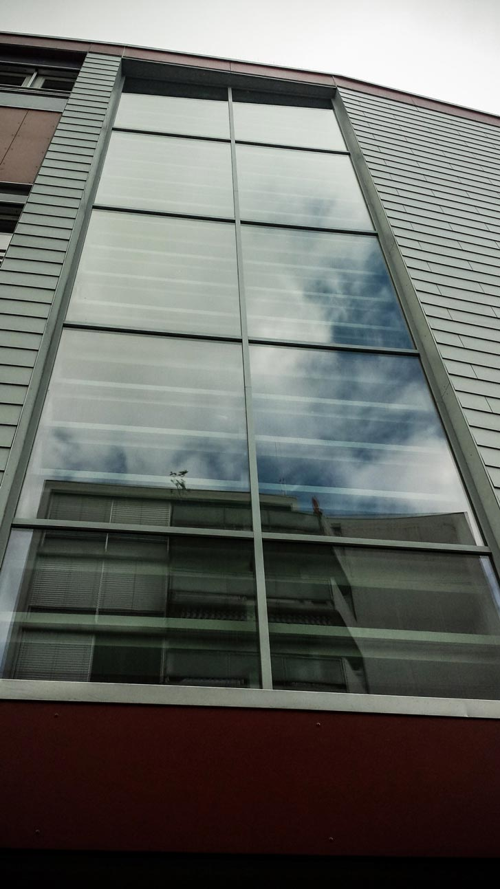 Vitrages d'immeuble